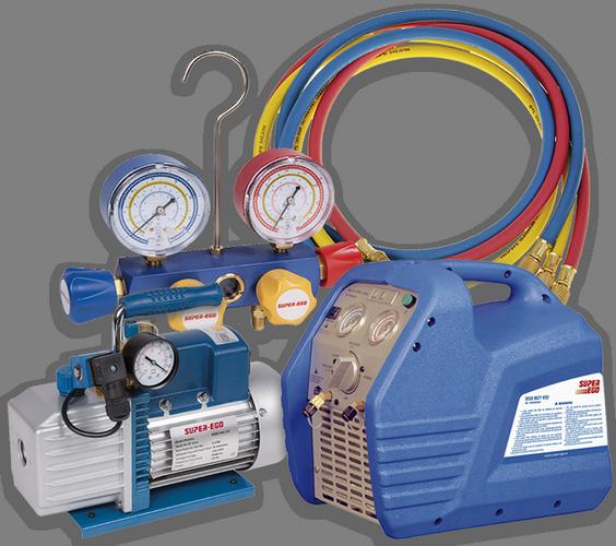 Инструменты, оборудование для промывки и обслуживания холодильной техники, систем охлаждения, кондиционирования