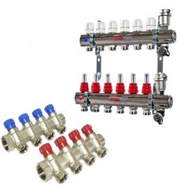 Коллекторы для водопровода (водопроводные гребенки)
