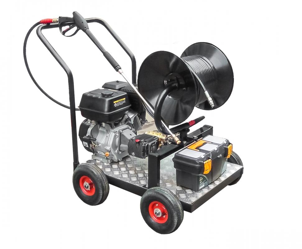 Машины секционного типа для прочистки систем канализации и сточных труб