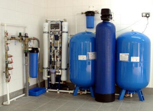 Монтаж систем водоочистки и водоподготовки