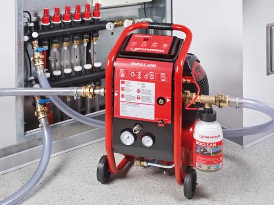 Оборудование для гидропневматической промывки инженерных систем