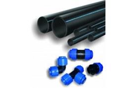 Полиэтиленовые трубы и фитинги для водоснабжения