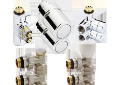 Радиаторные краны и комплектующие