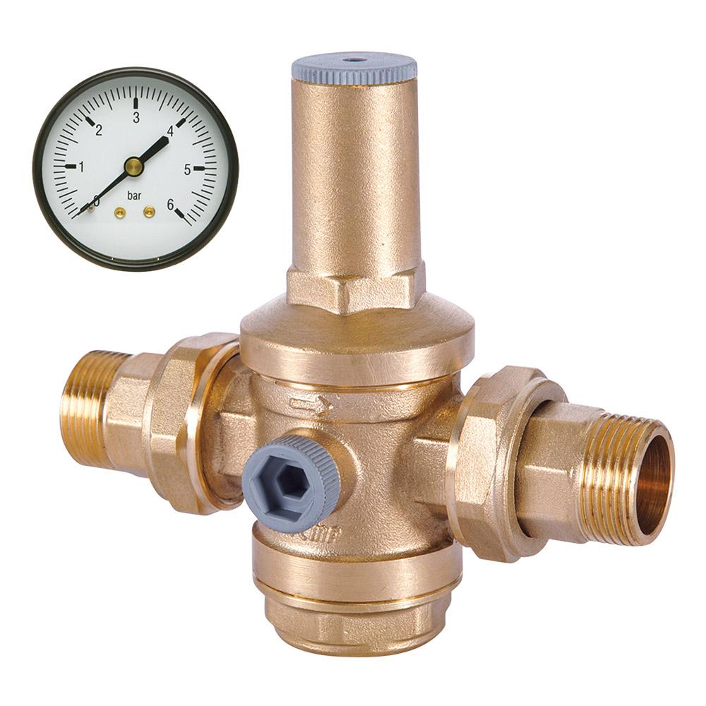 Редукторы (регуляторы) давления воды, воздуха, газа