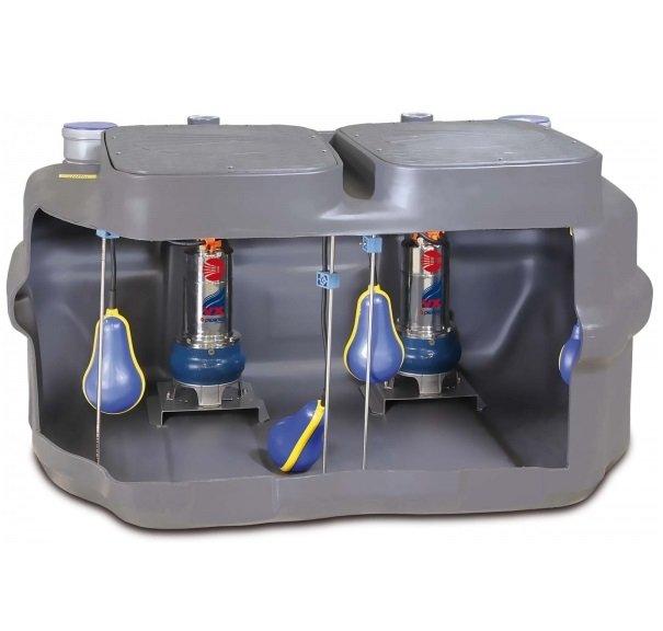 Станции для накопления и подъема сточных вод