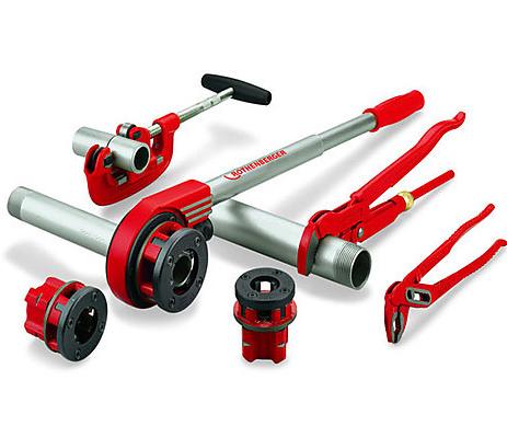 Инструмент и оборудование для монтажа стальных труб