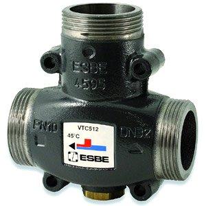 Трехходовые термостатические антиконденсационные смесительные клапаны