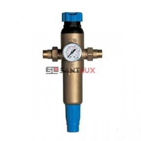 Самопромывной фильтр для воды ECOSOFT F-M-S 3/4HW-R с регулятором давления