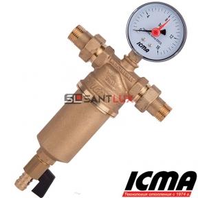 Самопромывной фильтр для воды ICMA 751 3/4