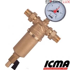 Самопромывной фильтр для воды ICMA 751 1/2