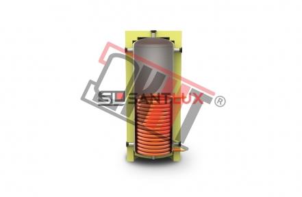 Буферная ёмкость KHT EA-01-500 литров с нижним теплообменником (без изоляции)