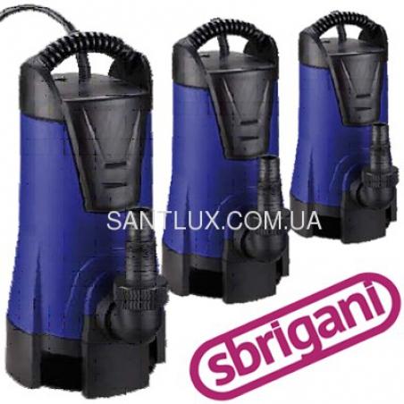 Дренажный насос SBRIGANI 100 DVE (встроенный поплавок)