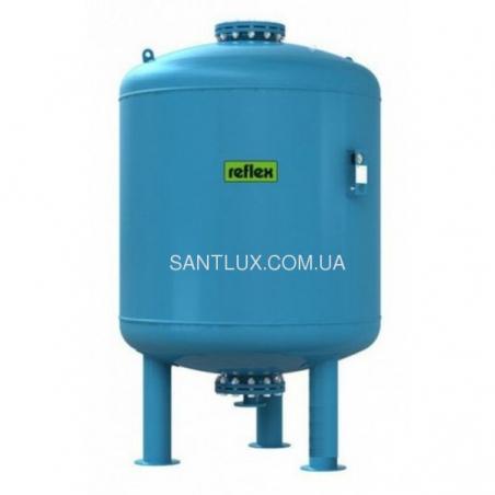 Гидроаккумулятор REFLEX DE 1000 литров (вертикальный) 16 бар