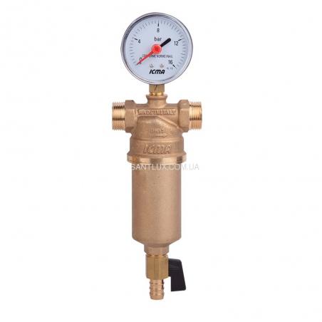Самопромывной фильтр для воды ICMA 750 2