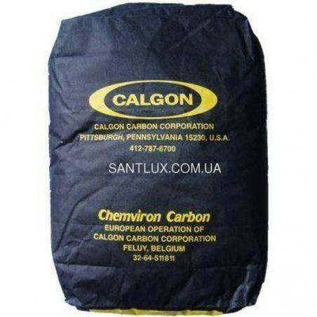 Фильтрующий материал Активированный уголь Chemviron Carbon Aquacarb 607C 14x40 кокосовый уголь отмытый