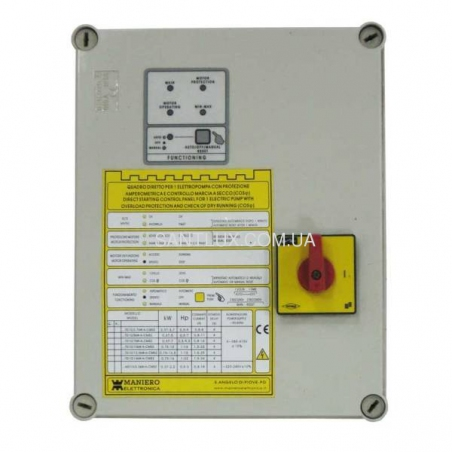 MANIERO QTD20/1,1kW-T-SI пульт управления