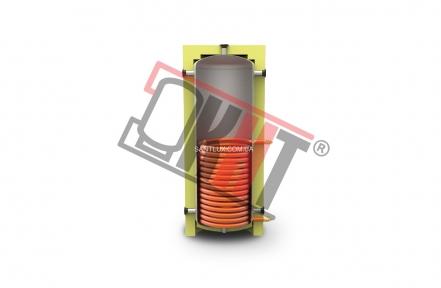 Буферная ёмкость KHT EA-01-350 литров с нижним теплообменником (в изоляции)