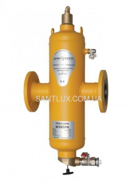 SPIROTECH SpiroCombi Air Dirt DN065 (фланец) сепаратор воздуха и шлама с магнитом